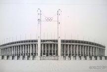 """Project """"City Monuments"""" / ..Tekeningen van bekende """"City Monuments"""" van steden over de gehele wereld.."""