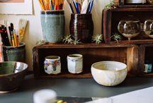 workspace art studio inspiration