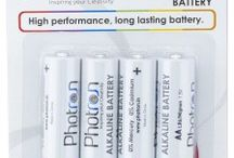 Photron High Performance AA Alkaline Battery 4 Pack