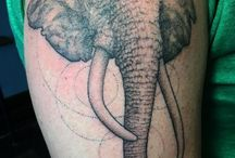 Animal Tattoos / Most tattoos here are *NOT* by us, but are done by other awesome tattooers!