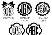 monogram ideas