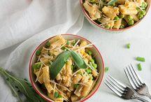 "Food Bliss: PASTA / Pasta recipes! Including veggie spiralized ""pastas"""