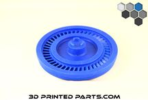 Wax Pattern 3D Printed Parts