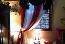 Bradyn's Pirate Room decor