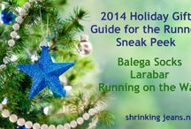 Holiday Gifts for the Runner / Our 2014 Holiday Gift Guide for the Runner will be debuting the week of Thanksgiving. The unique thing about our gift guide? We're giving it ALL away. Yes, everything in our gift guide is up for grabs! #running / by ShrinkingJeans