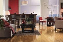 Hardwood / There's nothing like a hardwood floor for natural beauty, warmth, and ease of cleaning. Its distinctive grains and swirling burnished figures add a class touch throughout your home. Hardwood's rich character never goes out of style.