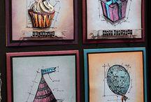 Tim Holtz stamps