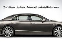 New Bentley Flying Spur / Bentley's new luxury sports sedan