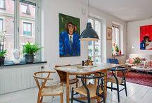 bohemian eclectic interiors