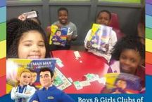 Boys & Girls of America Clubs - Cottman Man Coloring and Activities Book