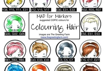 Copic Markers - Hair