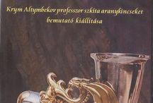 SZKITA  MOTIVUM KINCSEK / ŐSI HUN-SZKITA formavilág tárgyi emlékek