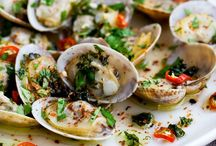 Clam Bake Ideas / Seafood recipes and ideas for clam bakes, fish frys, lobster boils, etc. / by Cast Iron & Wine