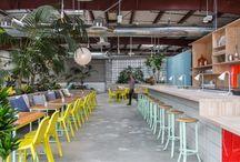 green in interior design / inspiration