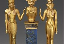 ancient egypt jewellry, cristal and gold