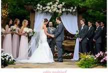 Wedding Arbor / Wedding Arbor in the wedding garden.