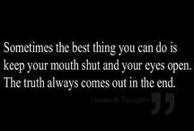 My Mouth and Me
