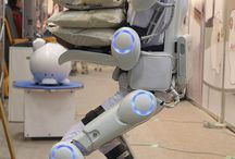 Robot / Robot is a collection of personal aids and technology that might make the life easier for us? The bionic man.