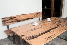 Gartentische, Terrassentische / Garden Tables, Terrace Tables / SUN WOOD Outdoor Tische für Garten und Terrasse