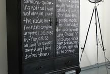 Chalk board / by Fabulous Fun Finds