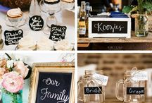 chalkboard party / party, wedding or special event that will have chalkboard inspired decor elements and sweet things to eat