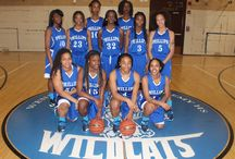 Phillips Lady Wildcat Basketball Team / Coach Larry Stokes Assistant Coach Tameka Curtis