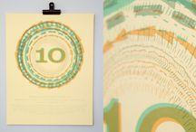 screen printing /  letterpress < < <