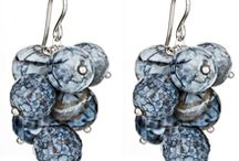 Peggy Li Creations -- Earrings / I love making earrings! I handcraft earrings using sterling silver, semi-precious stones, 14k gold-filled, and karat gold. Find stud earrings, ear climbers, chandelier earrings and hoop earrings here. I love delicate, minimalist style jewelry.