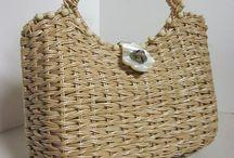 Сумочки плетенки