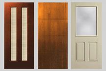Caldwell's Fiberglass Doors / The warmth and charm of wood but with the strength and stability of fiberglass.