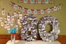 Ideas for Dad's 80th!