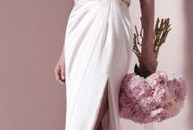 Dresses and bouqiets