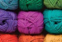 Yarn Addiction / Pretty and pleasant to use yarns