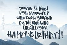Happy b-day messages