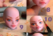 doll make/paint