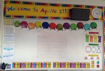 Classroom / Having a fun, colourful, and well organised classroom is a great tool for teaching and learning.
