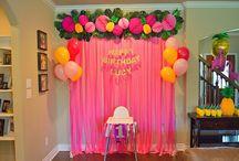 Birthday DIY / Crafts for birthday parties