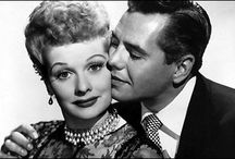 Lucille Ball & Desi Arnaz / Lucille and Desi. What can I say. The most loving couple of their time. Although they ended up getting a divorce, they both died still in love with each other. / by Vanessa Diaz