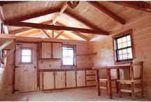 Our little cozy cabin