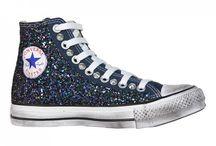 Converse All Star Glitter / www.108allstar.com personalizza Converse All Star con glitter. Brilla insieme a noi !!!