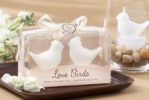 Love Birds Wedding Ideas / Love Birds Wedding Favors and Wedding Inspiration