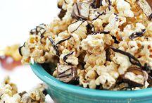 Poppin' Popcorn / Popcorn Recipes / by Maggie Cooper