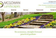 Landscape Gardening & Florist Websites