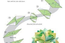 Origami/Kusudama / Origami and Kusudama