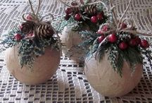 rustic chistmas ornaments 35 Rustic DIY Chistmas