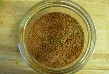 Mix of spices / Homemade seasonings  / by Sonia Dwyer