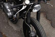 Café Racers / customs motorcycles