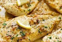 poulet ail et citron