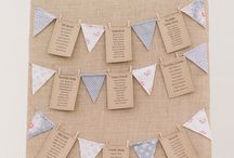 Seating Plans / Different ideas for seating plans for your wedding. From the formal to very informal.