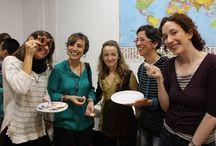 COMIDA INTERNACIONAL. OCTUBRE 2014. / ¡Menudo nivel la comida internacional! Todo estaba buenísimo. Muchas gracias a las profesoras y a l@s estudiantes